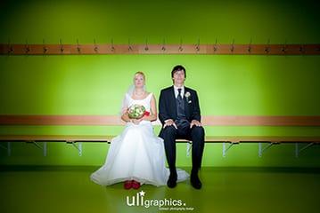 Hochzeit Sportler